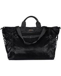 Dolce & Gabbana Logo Zipped Shopper Bag - Black