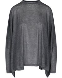 MM6 by Maison Martin Margiela Relaxed Fit Top - Gray
