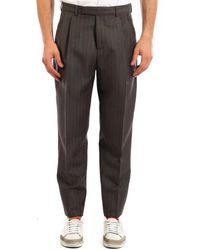 Dior Pants In Wool And Mohair Grey