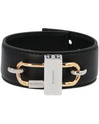 Givenchy 4g Padlock Bracelet - Black