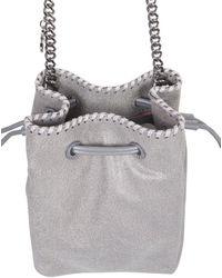Stella McCartney Falabella Micro Bucket Bag - Grey