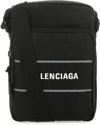 Balenciaga Sport Small Messenger Bag - Black
