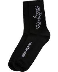 Heron Preston Other Materials Socks - Black