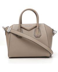 Givenchy Antigona Small Tote Bag - Natural