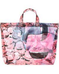 Comme des Garçons X Yue Minju Printed Tote Bag - Pink