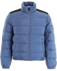 Prada High-neck Down Jacket - Blue