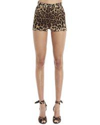 Dolce & Gabbana Animal Print Shorts - Multicolor