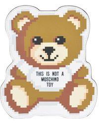 Moschino Teddy Pixel Clutch Bag - Multicolour