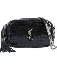 Saint Laurent - Mini Lou Crossbody Bag - Lyst