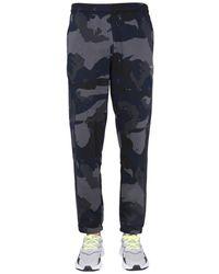 adidas Originals Camouflage Printed Jogging Pants - Blue