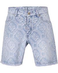 CASABLANCA Denim Shorts - Blue