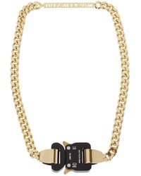 1017 ALYX 9SM 1017 Buckle Necklace - Metallic