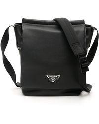 Prada Small Messenger Bag - Black