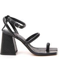 Maison Margiela Tabi Strapped Sandals - Black