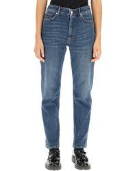 Sportmax Cambra Boyfriend Jeans - Blue