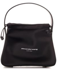Alexander Wang Ryan Small Satchel Bag - Black
