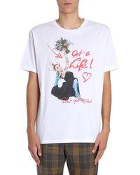 Vivienne Westwood T-shirt For Men On Sale - White