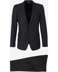 Dolce & Gabbana Slim-fit Dinner Suit - Black