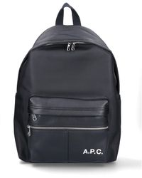 A.P.C. Camden Backpack - Black