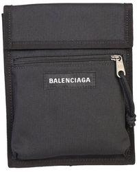 Balenciaga Explorer Shoulder Bag - Black
