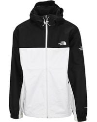 The North Face Logo Printed Hooded Jacket - Black
