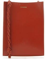 Jil Sander Tangle Small Shoulder Bag - Red