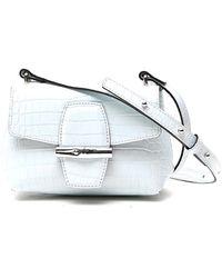 Longchamp Roseau Small Crossbody Bag - Blue