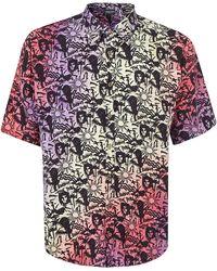 Mauna Kea Hawaiian Print Shirt - Multicolour