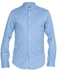 Ralph Lauren Shirts Blue