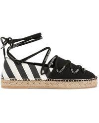 Off-White c/o Virgil Abloh Flat Shoes - Black