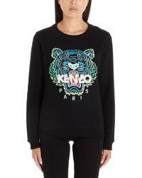 KENZO Logo Sweatshirt Black