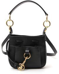 See By Chloé Small Tony Bucket Bag - Black