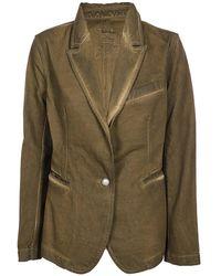 Uma Wang Single-breasted Tailored Blazer - Green