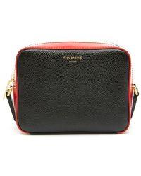 Thom Browne Mini Business Crossbody Bag - Black