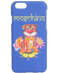 Moschino Tiger Iphone 6/6s Plus Case - Blue