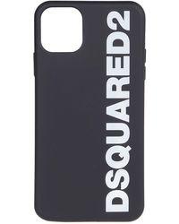 DSquared² Pvc Cover - Black