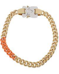 1017 ALYX 9SM Chain Buckle Necklace - Metallic