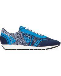 Prada - Colour Block Sneakers - Lyst
