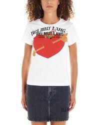 Helmut Lang - Standard Baby Logo Print T-shirt - Lyst