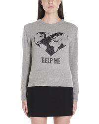 Alberta Ferretti Help Me Sweater - Grey