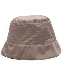 Rick Owens DRKSHDW Stitching Detail Bucket Hat - Grey