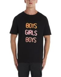 Neil Barrett Boys Girl Boys T-shirt - Black