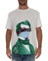 Valentino X Undercover Graphic Print T-shirt - White
