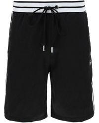 Philipp Plein Logo Patch Shorts - Black
