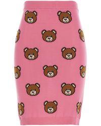 Moschino Fuchsia Other Materials Skirt - Pink