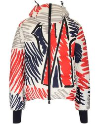 3 MONCLER GRENOBLE Mazod Down Jacket - Red