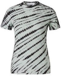 Proenza Schouler Tie-dyed T-shirt - Grey