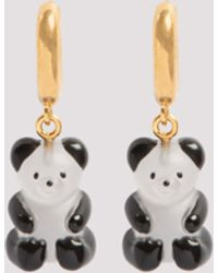 Balenciaga Gummy Bear Earrings - Metallic