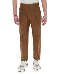 Valentino High-rise Trousers - Brown