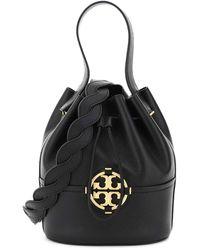 Tory Burch Miller Bucket Bag - Black